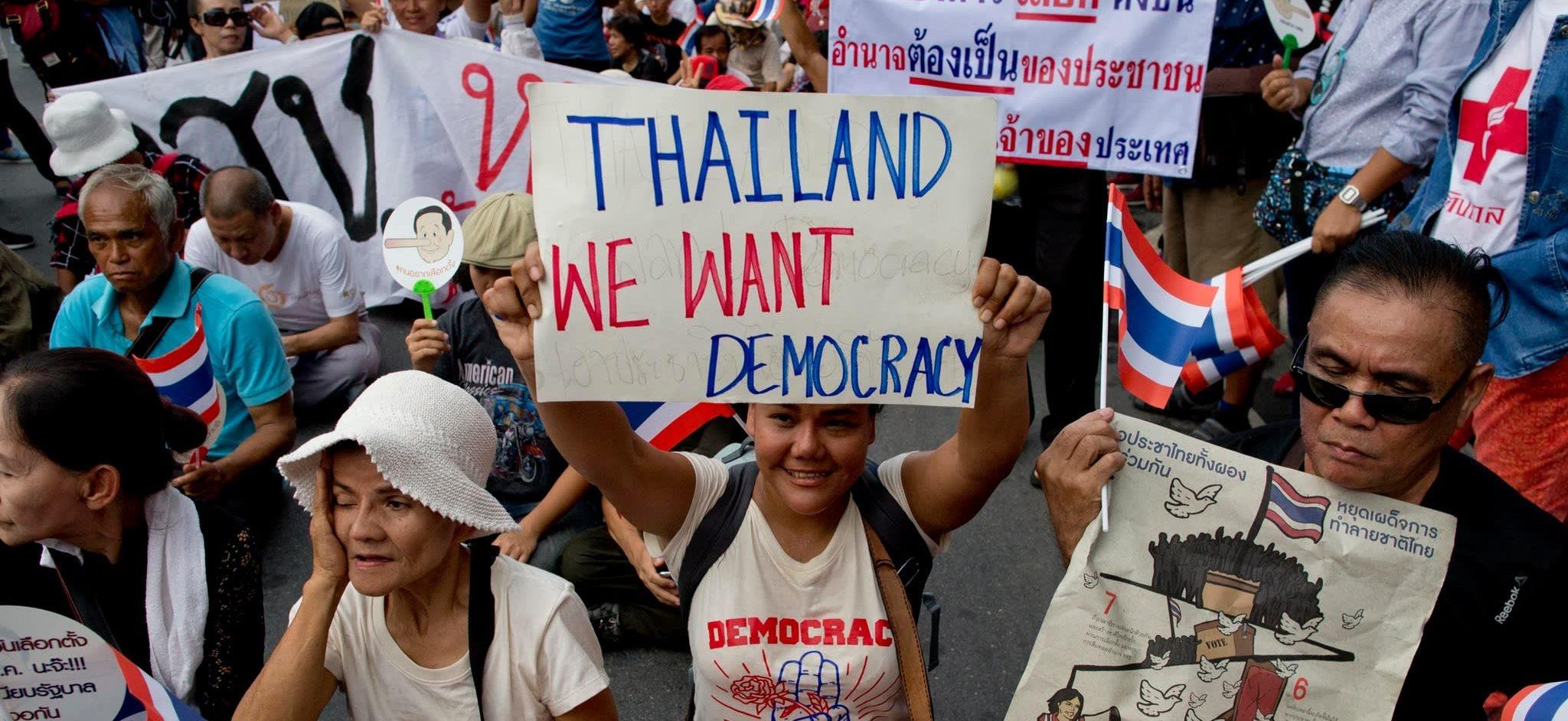 En Thaïlande, malgré les élections du 24 mars, l'horizon d'un retour à la démocratie est encore lointain. (Source : Asia Nikkei Review)