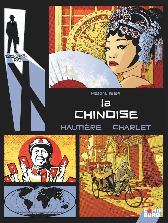 """Couverture de la bande dessinée """"La chinoise"""", scénario Régis Hautière, dessin Grégory Charlet, Glénat. (Copyright : Glénat)"""