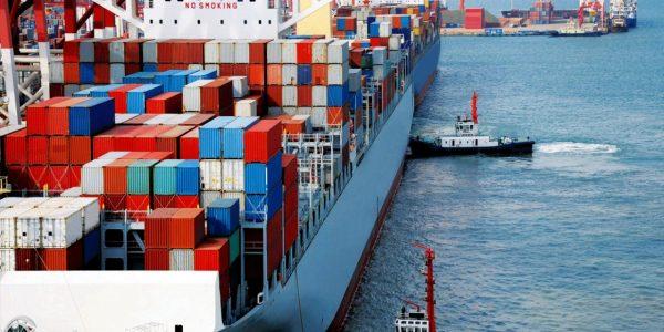 Le solde commercial de la Chine se réduit d'une année sur l'autre. (Source : Safety4Sea)