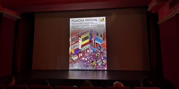 Ouverture du Filmosa Festival, le 12 avril 2019 à Paris. (Copyright : Alice Hérait)