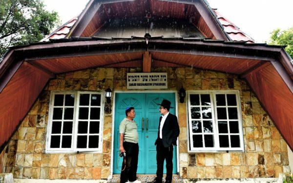 La synagogue du district de Tondano, dans le village de Rerewokan, en Indonésie, le 17 février 2017. (Source : Le Parisien)
