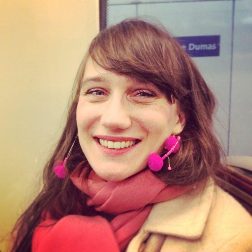 La chercheuse Charlotte Thomas, spécialiste de la minorité musulmane en Inde. (Crédit : DR)