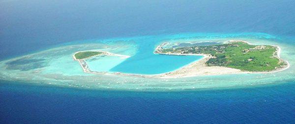 Point stratégique pour Pékin, le récif de Scarborough près des Philippines, en mer de Chine du Sud. (Source : Next Big Future)