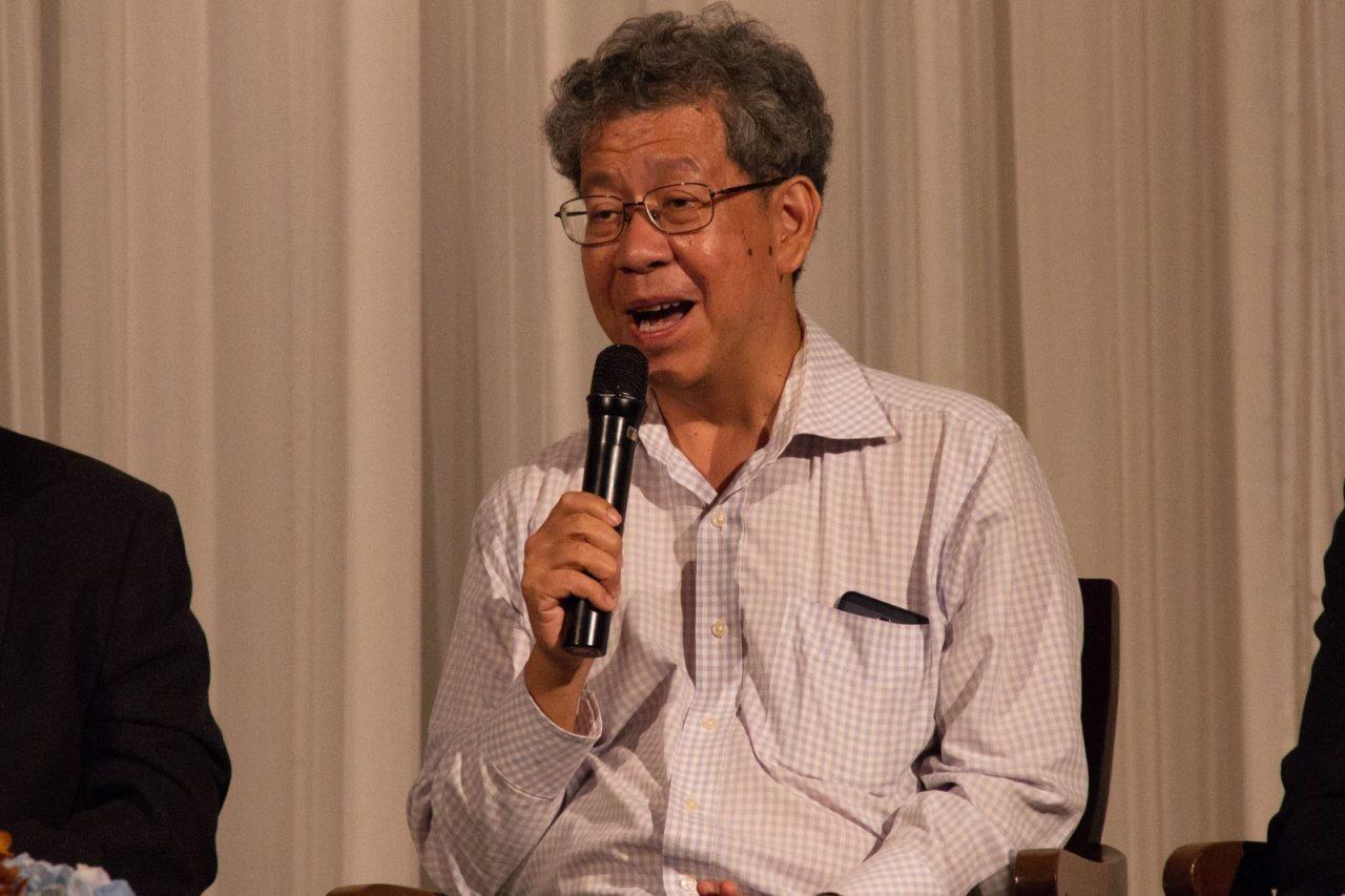 Le Thaïlandais Soraj Hongladarom, professeur de philosophie. (Crédit : DR)