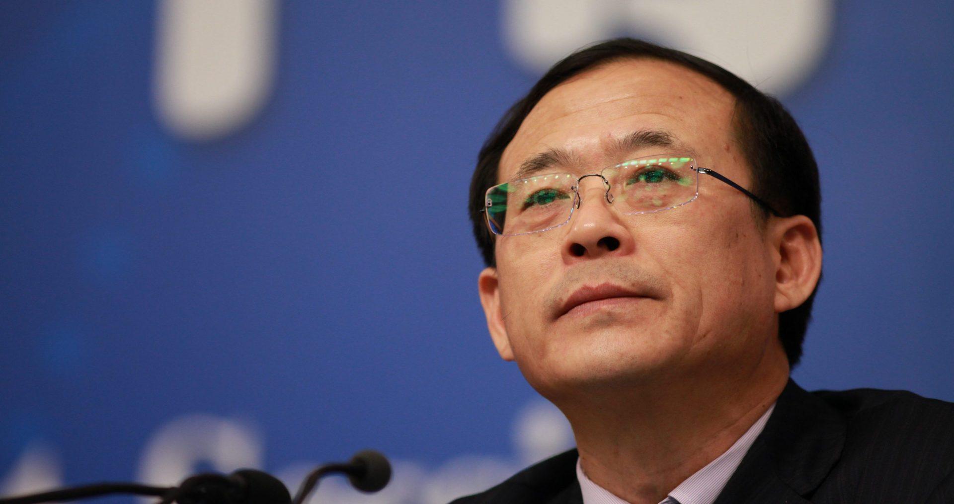 Liu Shiyu, ancien haut dirigeant de la Banque centrale de Chine, mis en examen le 19 mai 2019. (Source : Business Times)