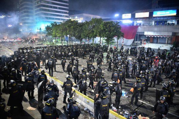 Qui a organisé les émeutes post-électorales du 21 mai 2019 à Jakarta ? (Source : Straits Times)