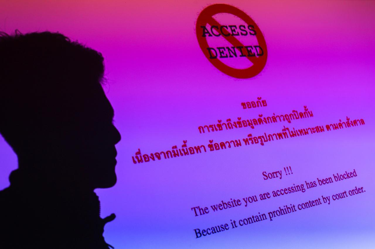 En Thaïlande, d'aucuns critiquent la nouvelle loi sur la cybersécurité parce qu'elle permettra au gouvernement de garder la main sur les entreprises numériques. (Source : Reuters)