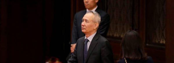 Liu He, vice-premier ministre chinois et négociateur en chef de Xi Jinping avec les Américains dans la guerre commerciale. (Source : WSJ)