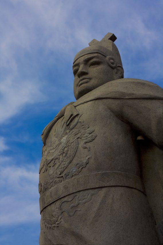 Statue de Zheng He à Malacca, en Malaisie. (Source : Wikimedias Commons)