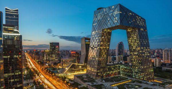 La tour CCTV à Pékin. (Source : MIT)