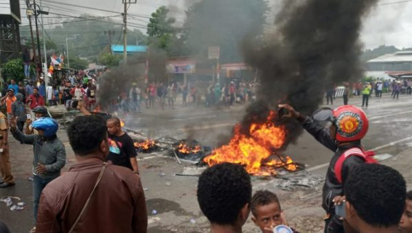 La province indonésienne de Papouasie occidentale est le lieu d'émeutes depuis le 19 août 2019. (Source : RFI)