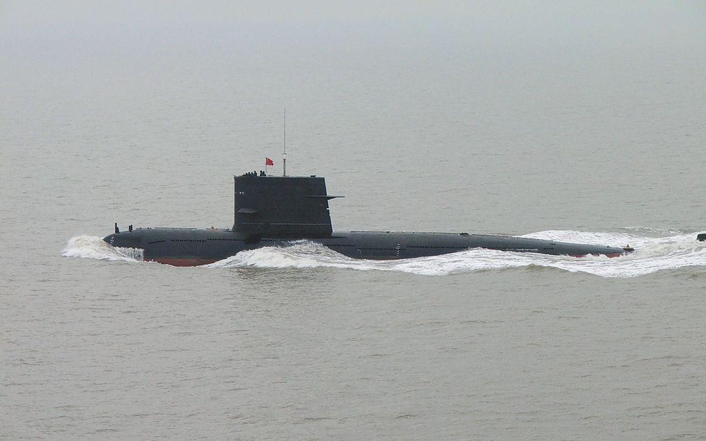 Sous-marin diesel-électrique de classe Song (en), première classe de sous-marin chinois de conception entièrement locale. (Source : Wikimedia Commons)