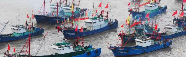 La flotte de pêche chinoise a fortement augmenté pour assouvir l'appétit grandissant pour les fruits de mer de la population de Chine populaire et les besoins de ses marché d'exportation. Le poisson est le motif principal des disputes en mer de Chine du Sud. (Source : Stratfor)
