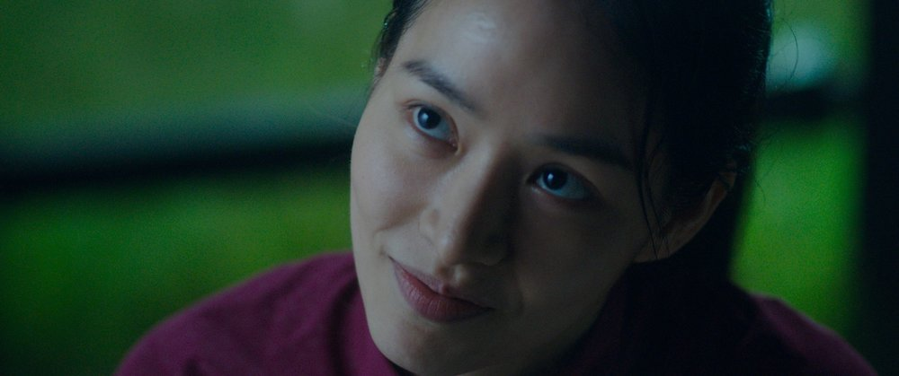 """L'actrice sud-coréenne Ahn Ji-Hye dans le rôle de la joggueuse Hyun-joo. Scène du film """"Our Body"""" de Han Kar-am. (Crédit : DR)"""
