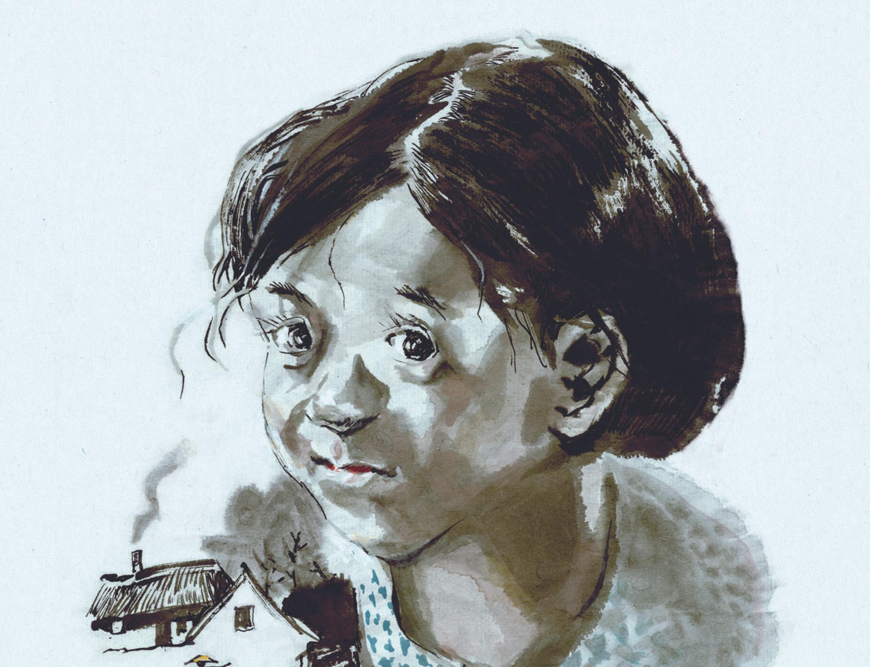 "Couverture de la bande dessinée ""Ma maman"", scénario et dessin Li Kunwu, Kana. (Copyright : Kana)"