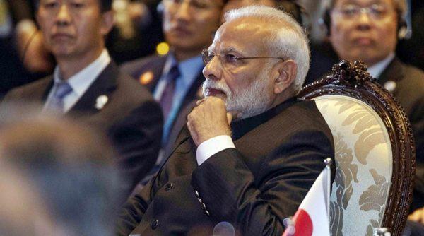 Le Premier ministre indien Narendra Modi lors du Sommet de l'Asie orientale en marge du 35ème sommet de l'ASEAN à Nonthaburi, en Thaïlande, le 4 novembre 2019. (Source : Indian Express)