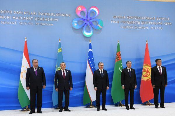 Lors du sommet de Tashkent le 29 novembre 2019, les présidents de 5 pays post-soviétiques, Kazakhstan, Kirghizistan, Ouzbékistan, Turkménistan et Tadjikistan, ont officiellement resolu de développer en Asie Centrale une organisation comparable à l'ASEAN ou au Mercosur. (Source : The Diplomat)