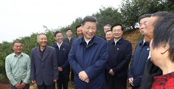 Le président chinois Xi Jinping en visite dans la province du Henan au centre du pays, le 18 septembre 2019. (Source : SCMP)