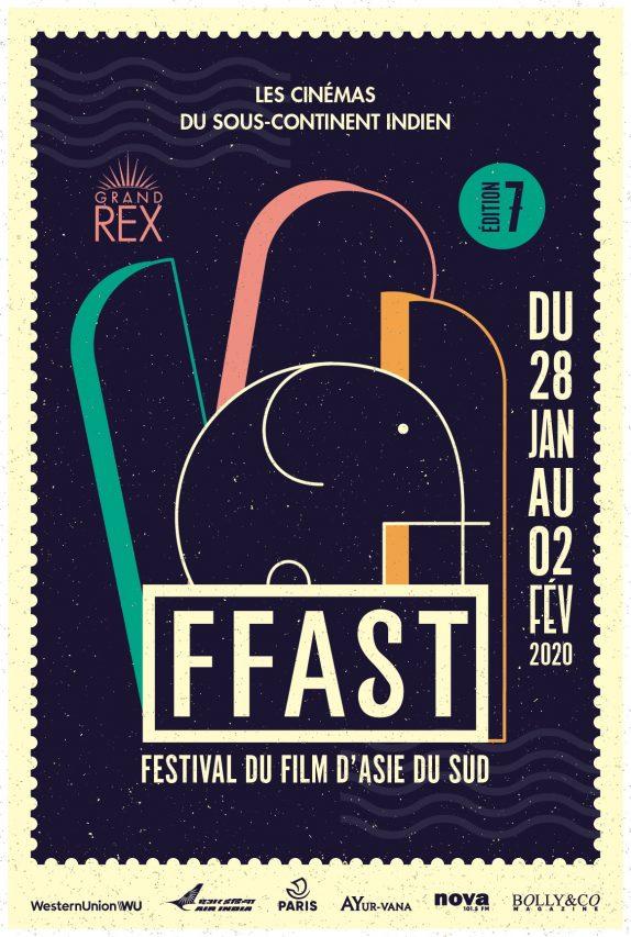 Le Festival du Film d'Asie du Sud aura lieu au cinéma le Grand Rex, à Paris du 28 janvier au 2 février 2020. (Crédit : FFAST)