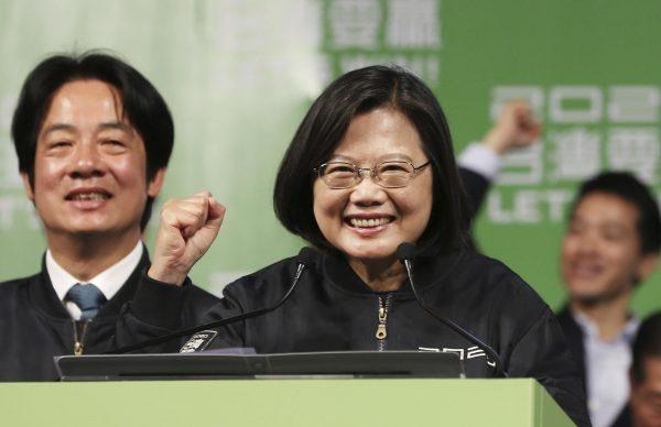 La présidente taïwanaise sortante Tsai Ing-wen a été réélue avec 57 % des voix le 11 janvier 2019. (Source : Hawai Public Radio)