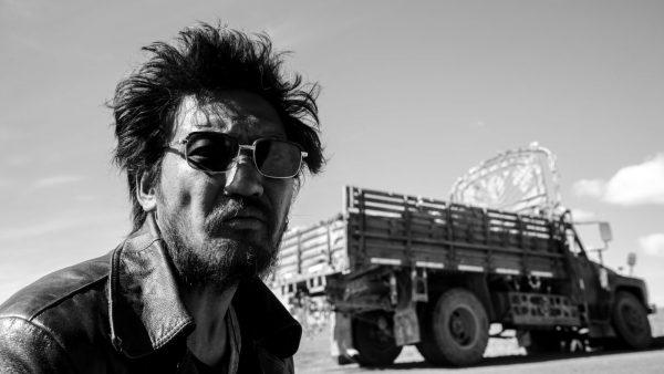 """Scène du film """"Jinpa"""" du réalisateur tibétain Pem Tseden, Cyclo d'or du Festival international des cinémas d'Asie (FICA° à Vesoul en 2019. (Source : Film Linc)"""