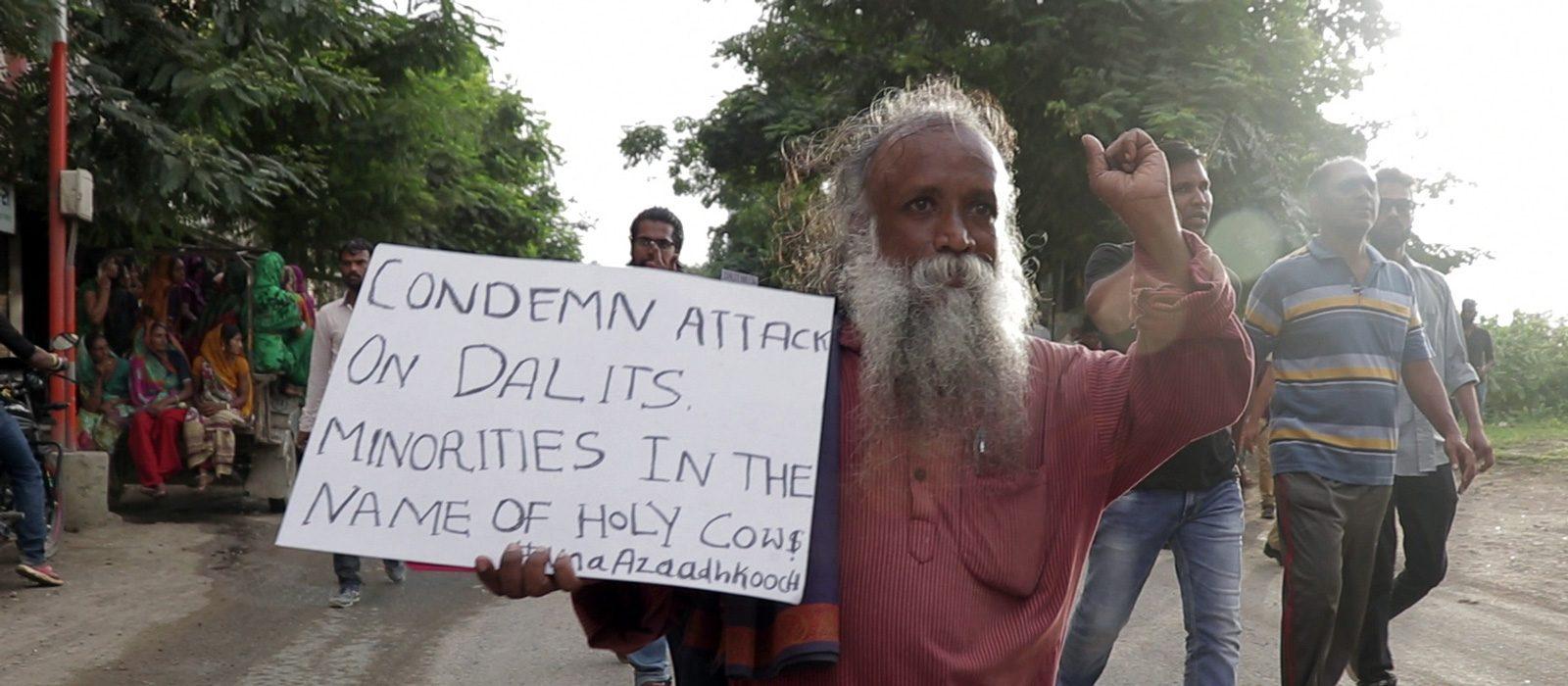 """Extrait de """"Vivek"""", documentaire d'Anand Patwardhan. (Source : Globeistan)"""