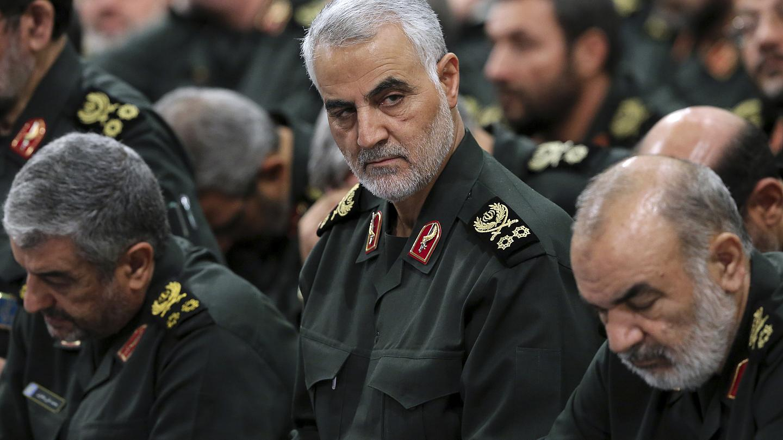 Le général iranien Qasem Soleimani, tué en Irak par les Américains, le 3 janvier 2020. (Source : Euronews)