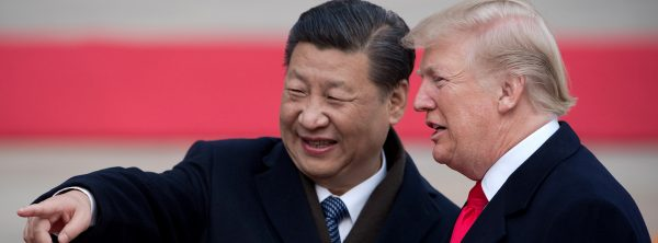 Xi Jinping et Donald Trump en 2017. (Source : Europe 1)