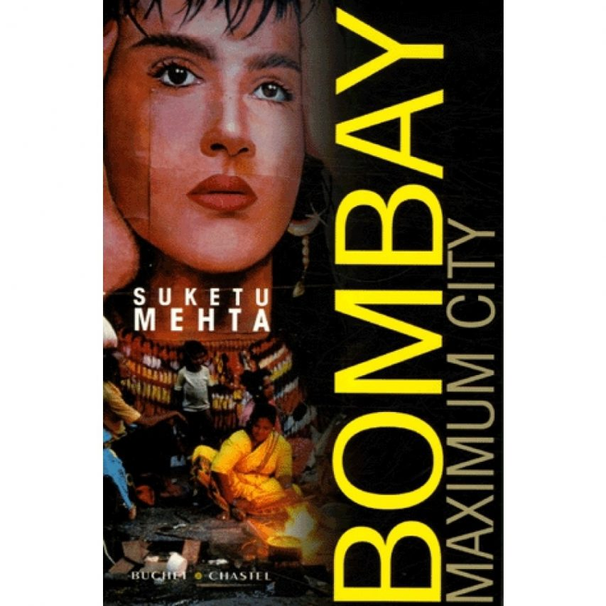 "Couverture du roman ""Bombay Maximum City"" par Suketu Mehta. (Crédit : DR)"