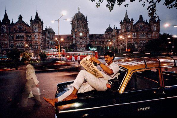 Dans une rue de Bombay. (Crédit : DR)