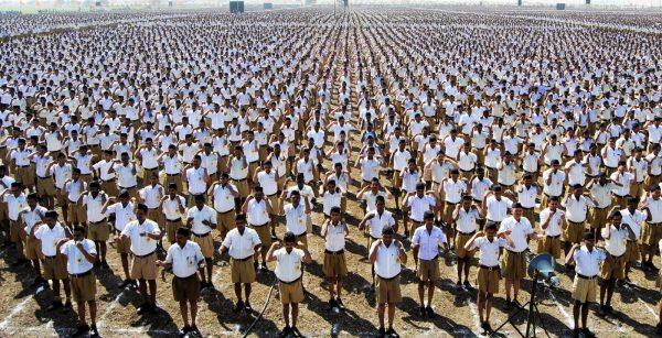 Le RS compte six millions de membres et quelque 84 000 sections, dont 57 000 se réunissent quotidiennement pour des exercices physiques et spirituels. (Source : Newsgram)