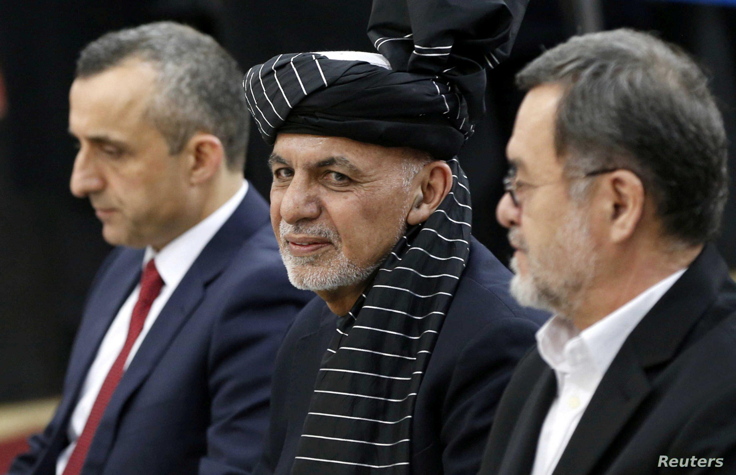 Le président Ashraf Ghani, réélu aux élections du 28 septembre 2019.(Source : VOA)