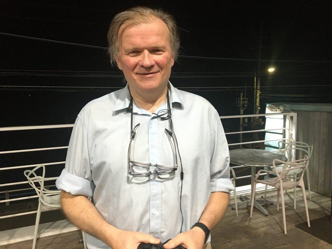 François Amblard, professeur et directeur de recherche en détachement du CNRS à l'Institut des Sciences et des technologies d'Ulsan en Corée du Sud. (Copyright : Stéphane Lagarde)