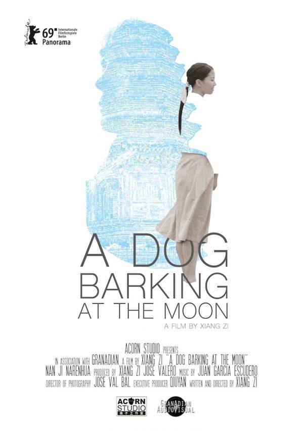 """Affiche du film """"A dog barking at the Moon"""" de Xiang Zi. (Crédits : Acorn Studio)"""