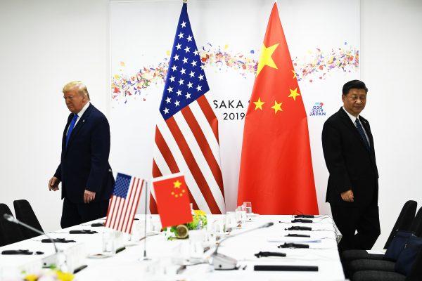 Le président Donald Trump et son homologue chinois Xi Jinping au sommet du G20 à Osaka le 29 juin 2019. (Source : CNBC)