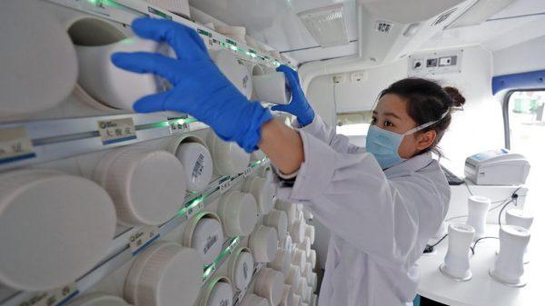 La Chine produit 80 % des médicaments consommés par les Européens. (Source : Le Soir)
