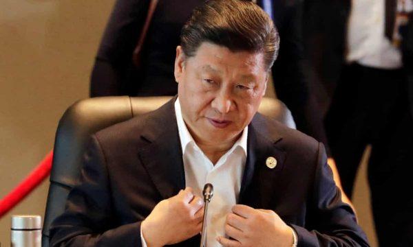Le président chinois Xi Jinping au sommet du Forum de la Coopération économique en Asie-Pacifique (APEC) à Port Moresby, le 22 février 2018. (Guardian)