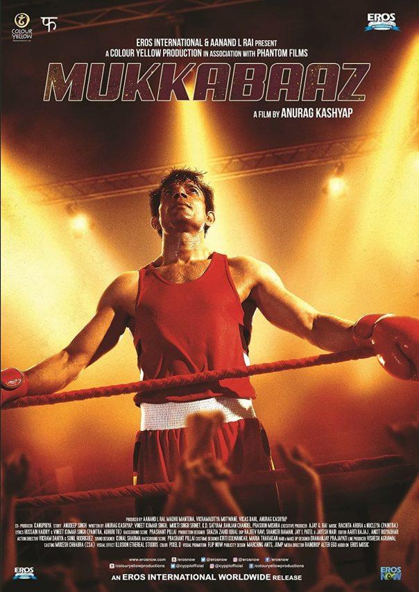 "Affiche du film ""Mukkabaaz"" d'Anurag Kashyap. (DR)"