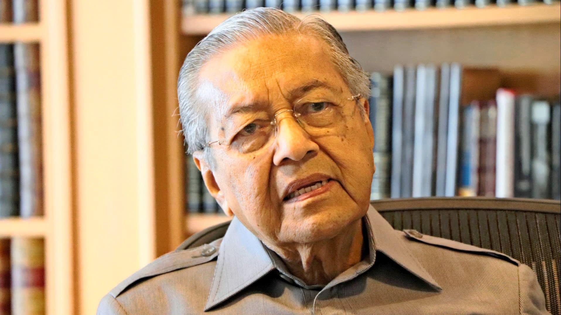 L'ancien Premier ministre malaisien Mahathir Mohamad. (Source : Nikkei Asian Review)