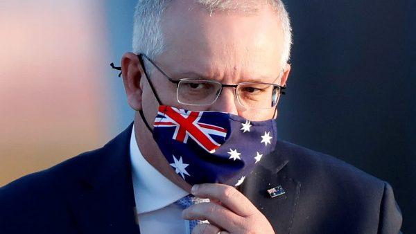 Le Premier ministre australien Scott Morrison. (Source : Asia Nikkei)