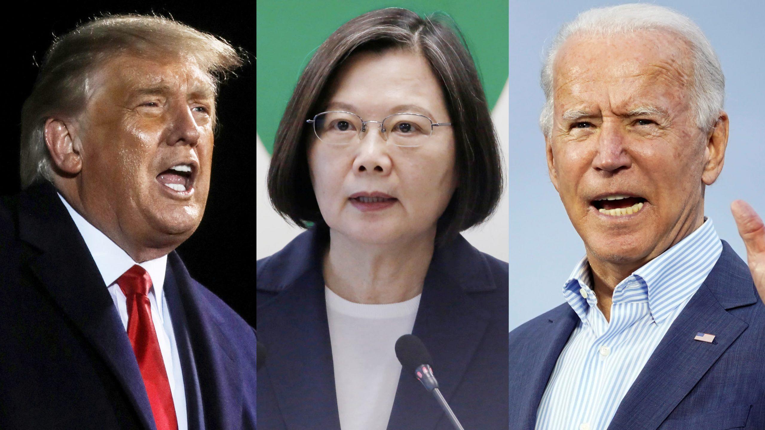 La présidente taïwanaise Tsai Ing-wen doit-elle regretter la fin de l'ère Trump et l'arrivée d'une administration Biden ? (Source : Asia Nikkei)