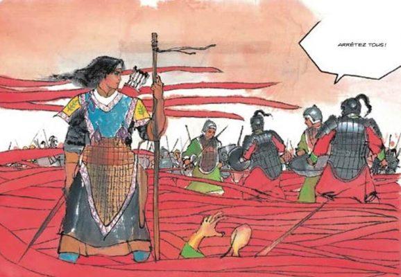 """Extrait de la bande dessinée """"Des assassins"""", scénario et dessin Chen Uen, Patayo Éditions. (Copyright : Patayo)"""