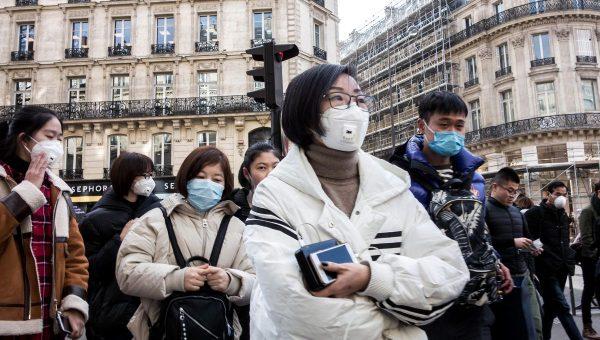 À Paris, comme dans d'autres capitales occidentales, la communauté asiatique a été victime de discrimination et de racisme liés à la propagation du coronavirus. (Source : France Bleu)