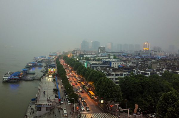 Au bord du fleuve Yangzi à Wuhan. (Source : Smartcity Press)