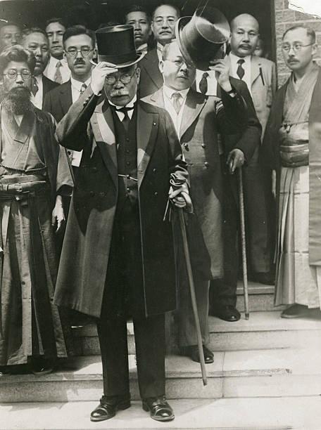 Le Premier ministre japonais Osachi Hamaguchi, le 2 juillet 1929 à Tokyo. (Source : Japaneseclass)