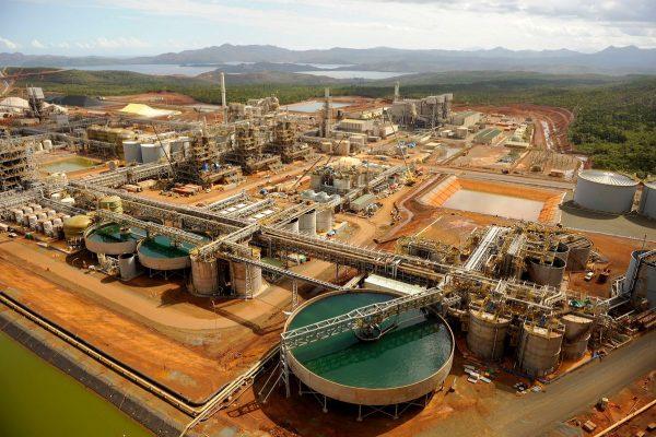 L'usine hydrométallurgique de Vale Nouvelle-Calédonie, classée Seveso. (Source : Usine nouvelle)