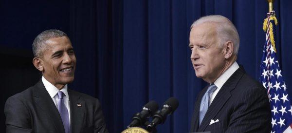 L'ancien président américain Barack Obama venu soutenir la candidature de Joe Biden lors de la campagne présidentielle en avril 2020. (Source : France 24)