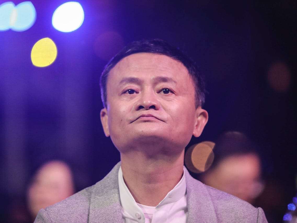 Le fondateur d'Alibaba, Jack Ma. (Source : Business Insider