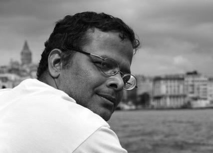 L'écrivain indien Jerry Pinto. (Crédit : DS)