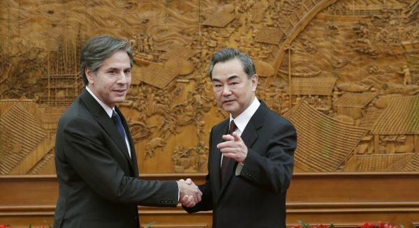 En 2015, le ministre chinois des Affaires étrangères Wang Yi avait reçu à Pékin Anthony Blinken, alors adjoint au secrétaire d'État américain de l'administration Obama. (Source : CGTN)